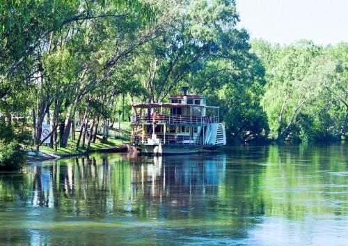 Paddlesteamer on the River Murray - Dec 1998