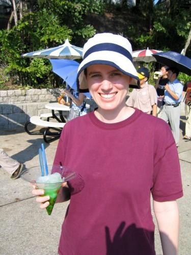 Leanne at Hong Kong Ocean Park
