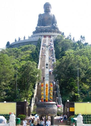 Tiantan Buddha Statue - Lantau Island, Hong Kong