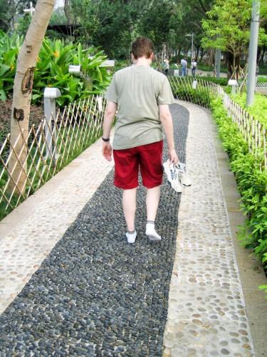 Foot Massage Track - Hong Kong