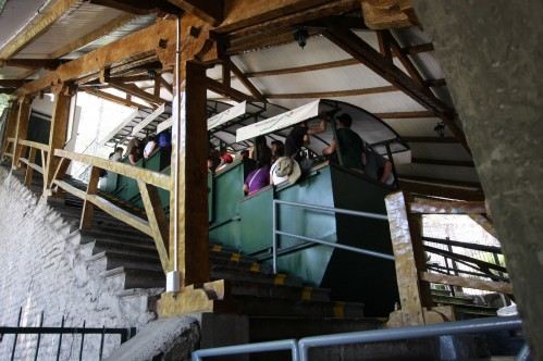 Funnicular Railway - Cerro San Cristobal, Santiago Chile