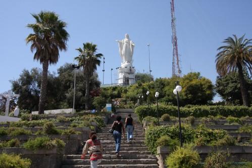 Virgen de la Immaculada Concepcion - Cerro San Cristobal, Santiago Chile