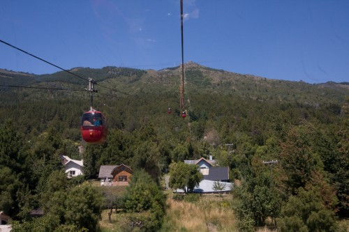 Telerifico cable car - Cerro Otto, near Bariloche, Argentina