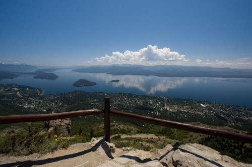 Views from Cerro Otto, near Bariloche, Argentina