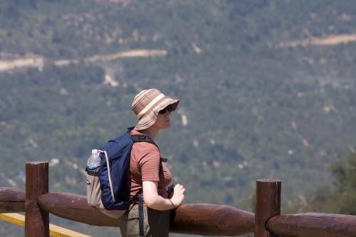 Leanne at Cerro Otto, near Bariloche, Argentina