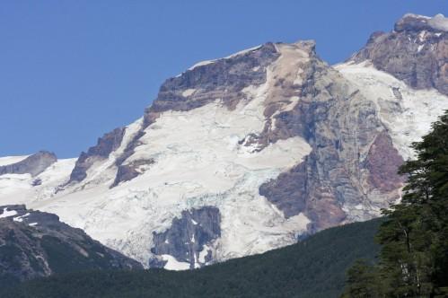 Closeup of Cerro Tronador