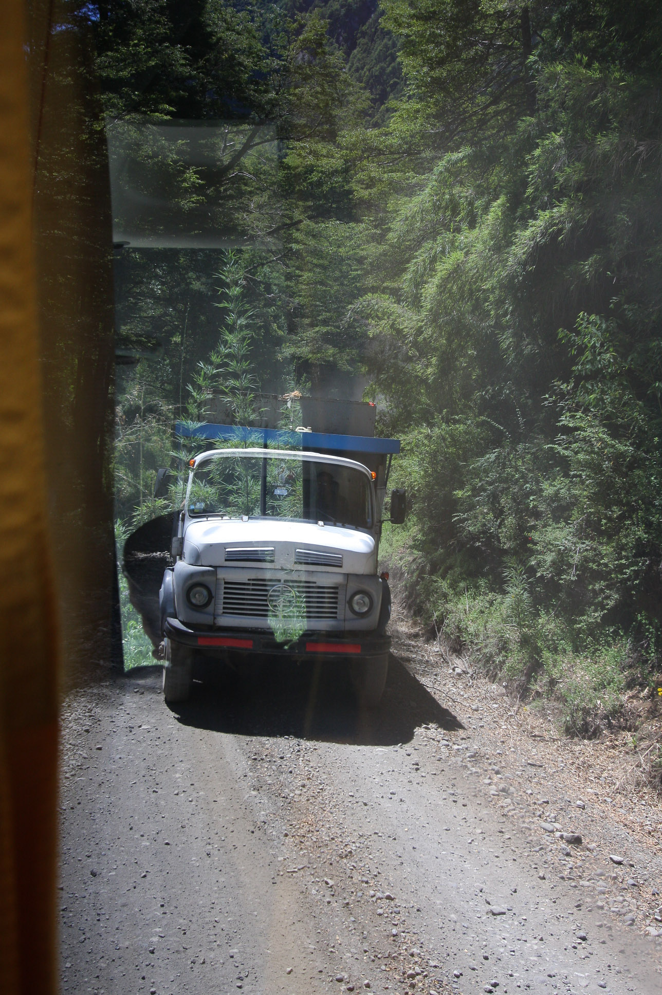 Pull Off The Road : Day bariloche to puerto varas the rhyme of sim