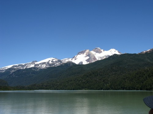 Cerro Tronador from Lago Frias