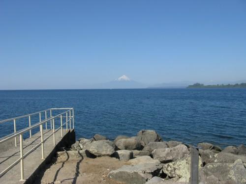Osorno across Lago Llanquihue