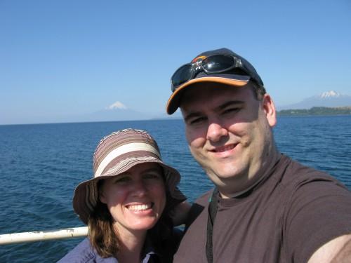 Simon and Leanne - Lago Llanquihue - Puerto Varas