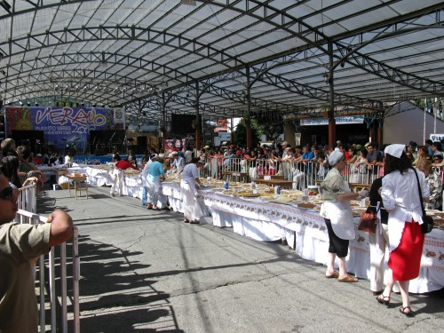 Cooking festival at Puerto Varas