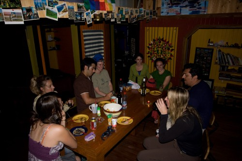 Blackout in Puerto Varas - Hostel Casa Margouya