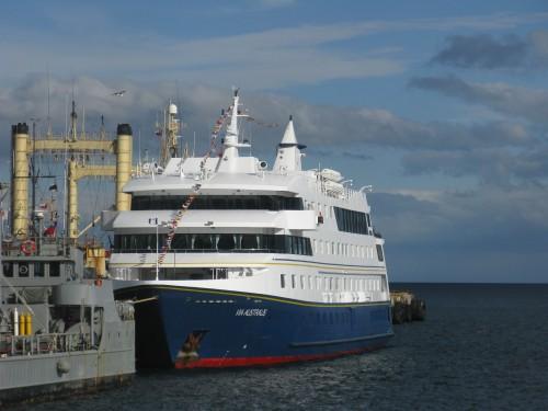 MV Via Australis, Punta Arenas, Chile