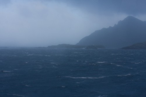 Cape Horn 15 minutes after we departed