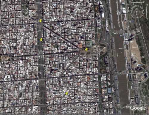 Buenos Aires Satellite View