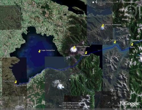 Cruce de Lagos part 3 - Satellite View