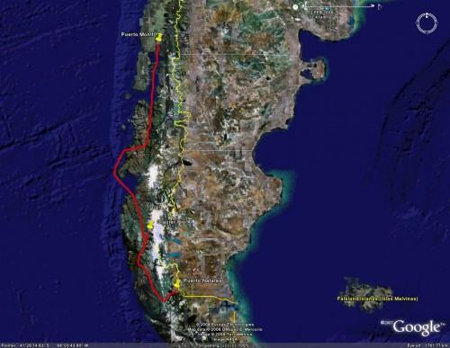 Navimag - Satellite View