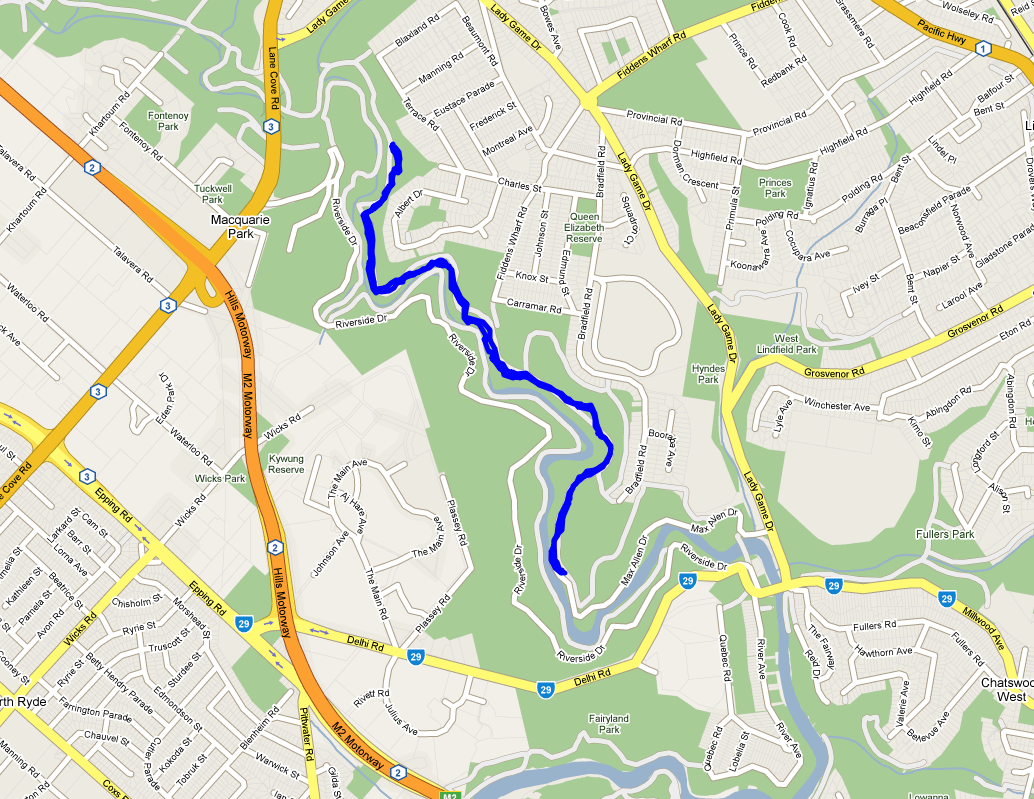 Lane Cove National Park Map Lane Cove National Park Map | compressportnederland Lane Cove National Park Map