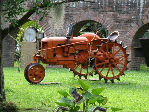 Tractor - Sugar Cane Museum