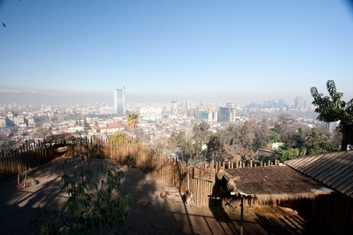 A roo with a view - Santiago Zoo