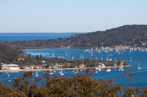 Looking across Pittwater from West Head - Ku-ring-gai Chase National Park