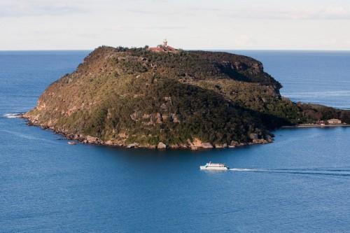 Barrenjoey Head as taken from West Head