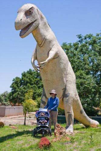 Dinosaur at Bredl's Reptile Park
