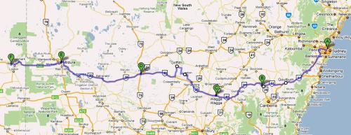 The trip so far