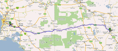 Mt Barker to Swan Hill